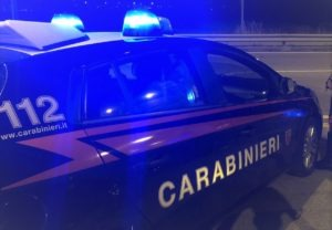 carabinieri rapina diciannovenne